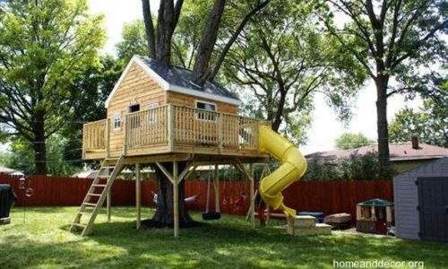 casa-del-arbol-de-jardin-niños